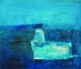 Blue underground 50x60cm oil on canvas 2006