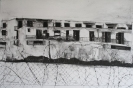 No mans land 46 x 68 cm, charcoal on paper