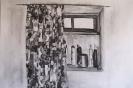 Window, Parathiro, 53 x70 cm
