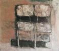 Chairs, Karekles, 70x80, ladi se kanva