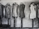 Dolls 150x200cm charcoal on paper