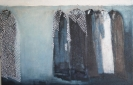 House coat series II, 50 x90cm, oil on canvas